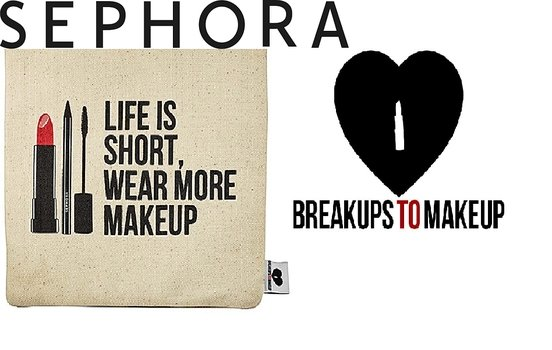 Sephora teams up with US accessories brand Breakups to Makeup for new makeup bag range