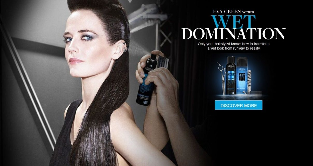 Actress Eva Green announced as International Spokesperson for L'Oreal Professionnel