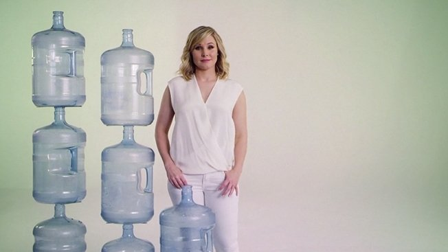 Actress Kristen Bell encourages consumers to conserve water in Neutrogena  campaign