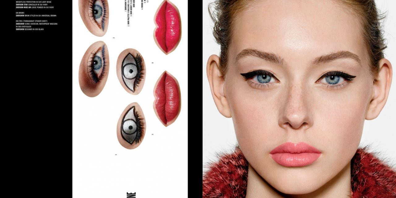 Christian Dior promotes new collection with adult sticker book