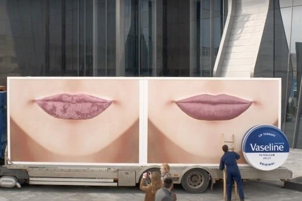 Unilever pays lip service with new bold marketing campaign