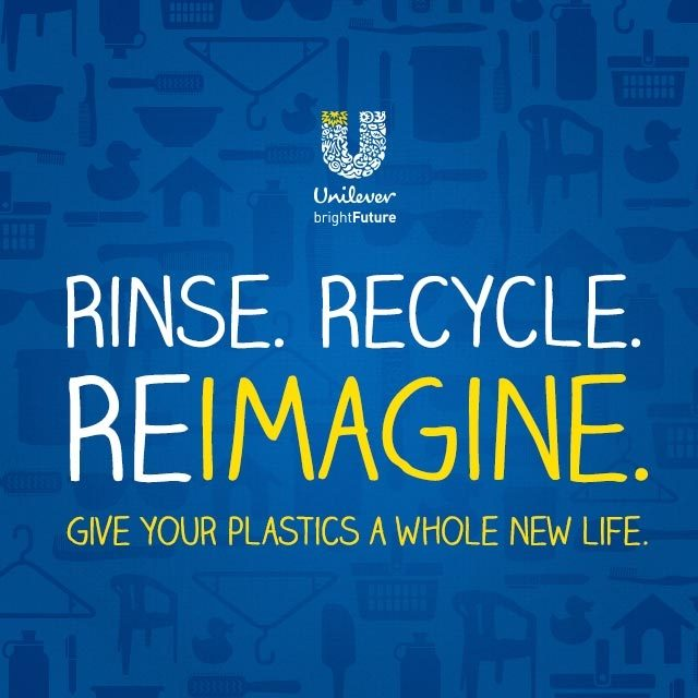 Unilever relaunches campaign to promote an equal recycling strategy among consumers