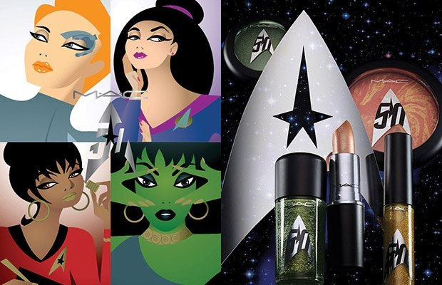 MAC launches Star Trek-themed make up line
