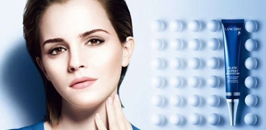 Emma Watson lambasted on Twitter for 'promoting skin lightening' in Lancôme campaign