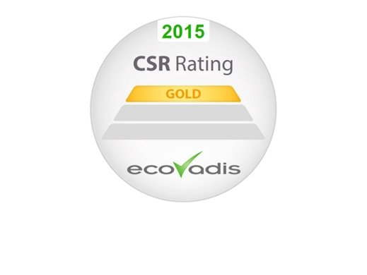 Firmenich receives gold rating for sustainability from EcoVadis