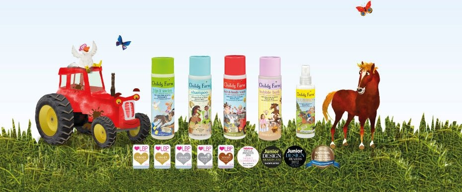Child's Farm named as UK's fastest growing children's toiletries brand