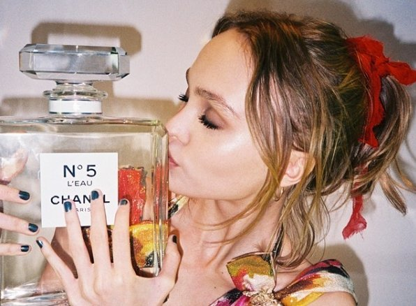 Chanel names Lily Rose Depp new face of No 5 L'Eau