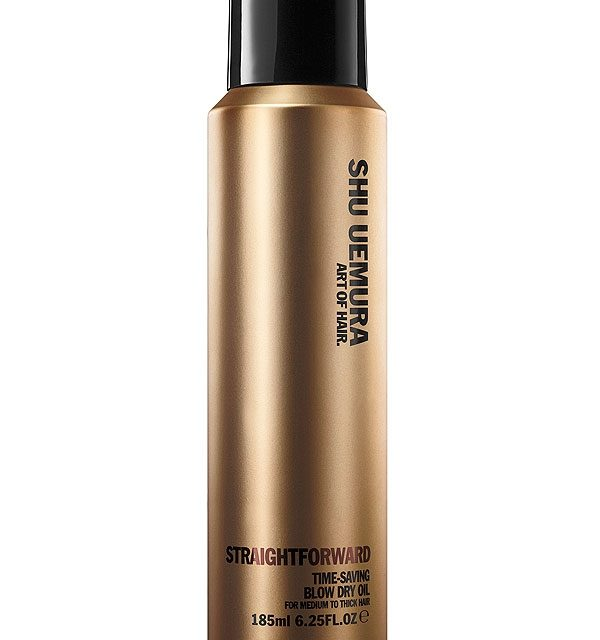 Shu Uemura  – Art of Hair Straightforward Time-Saving Blow Dry Oil Spray