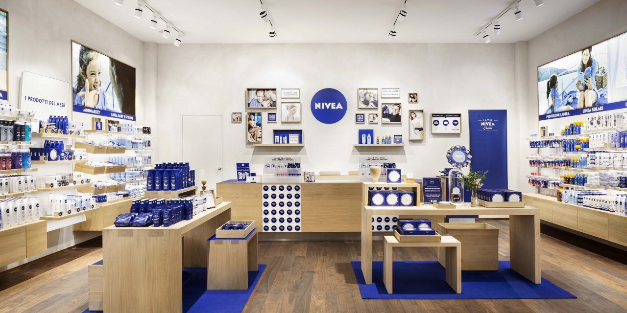 Beiersdorf launch first Nivea shop in collaboration with architect Matteo Thun