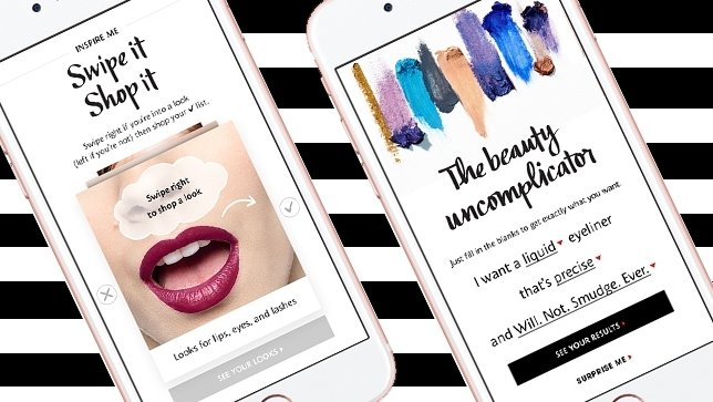 Swipe right for beauty? Sephora relaunches private label with Tinder-style promotion