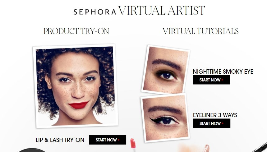 An unprecedented success: Sephora capitalizes on Virtual Artist App's popularity with new features