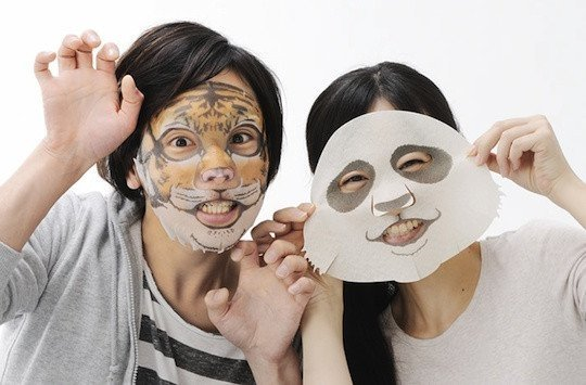 Chinese student brings fun serum face masks to UK