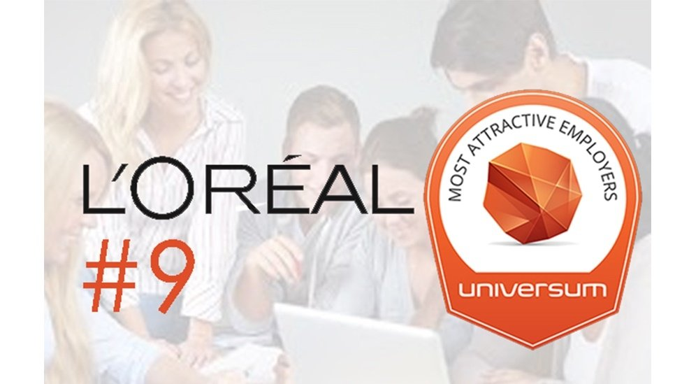 L'Oréal makes Universam's top 10 'Most Attractive Employers'