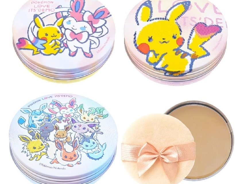 It'sDemo launches Pokémon make-up range
