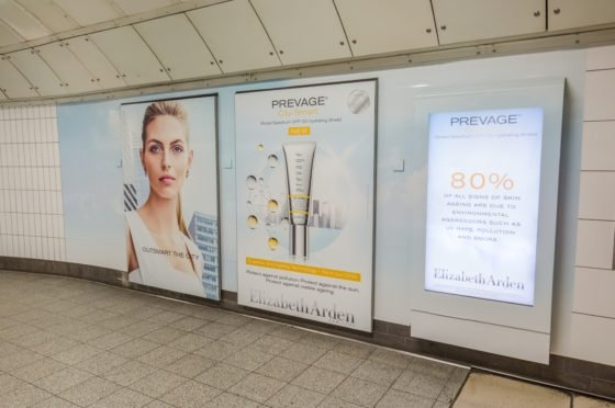 Elizabeth Arden harnesses DOOH technology in new marketing campaign
