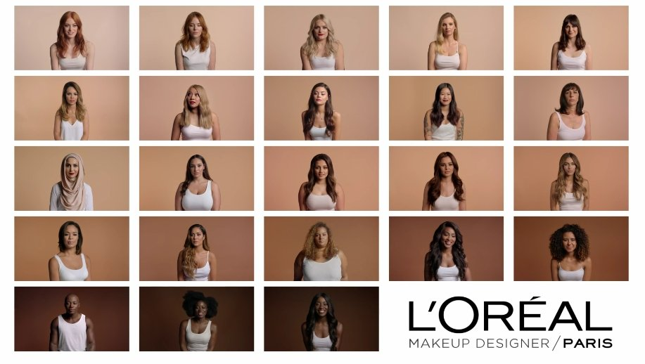 Oh boy! L'Oréal Paris celebrates diversity across race, gender and size; first man featured in new make-up ad