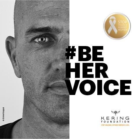 Kering enlists men to assist #BeHerVoice domestic violence white ribbon campaign