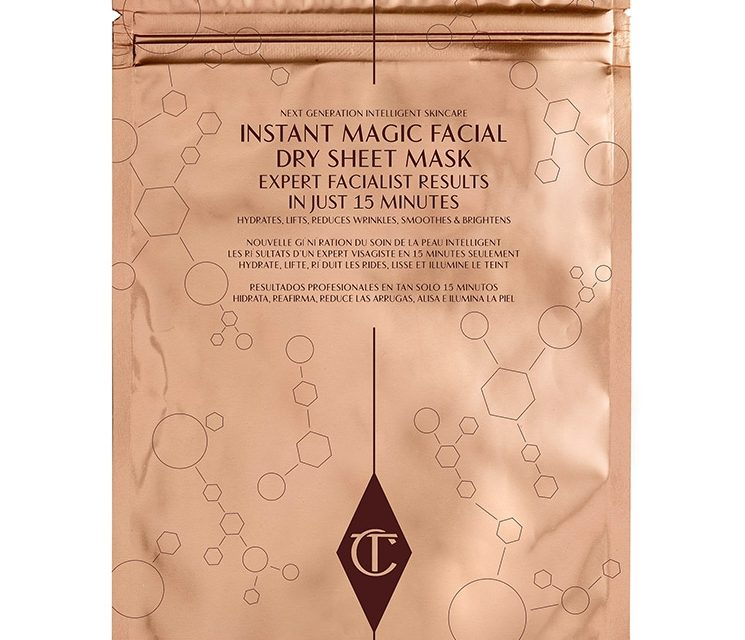 Charlotte Tilbury – Instant Magic Facial Dry Sheet Mask
