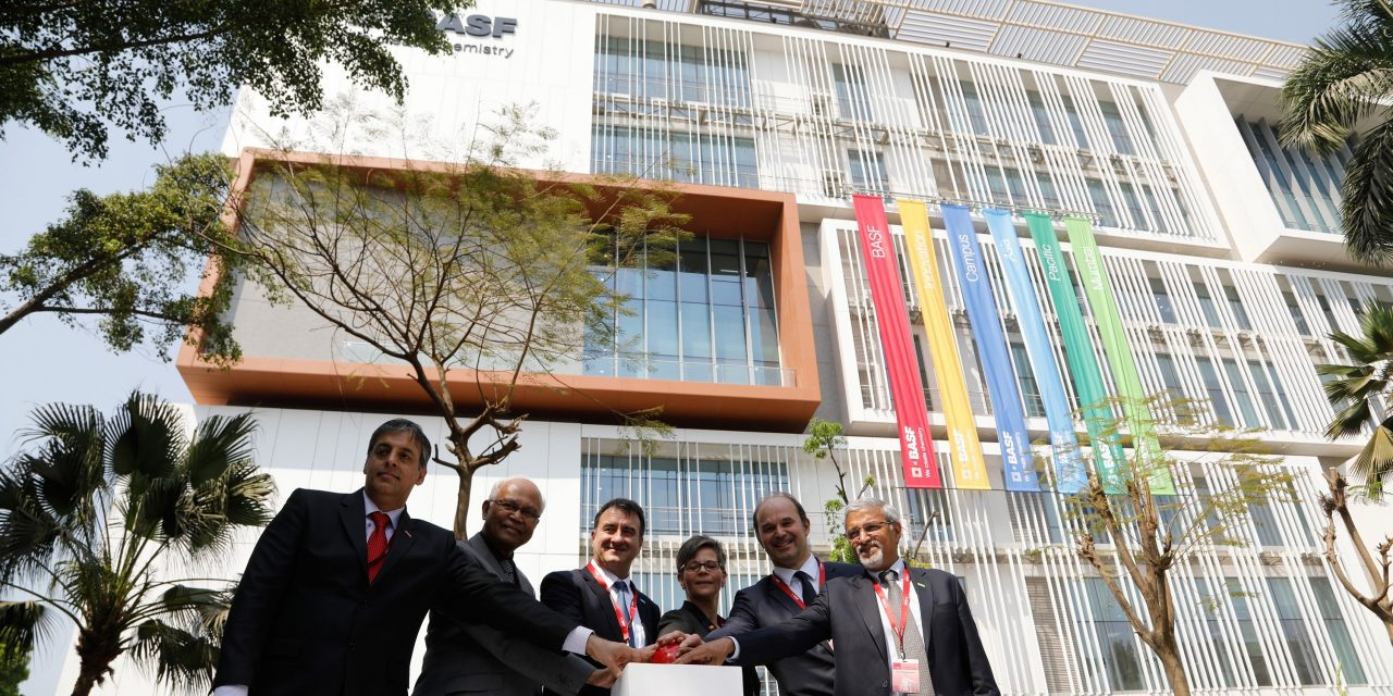 BASF opens €50 million Mumbai innovation campus