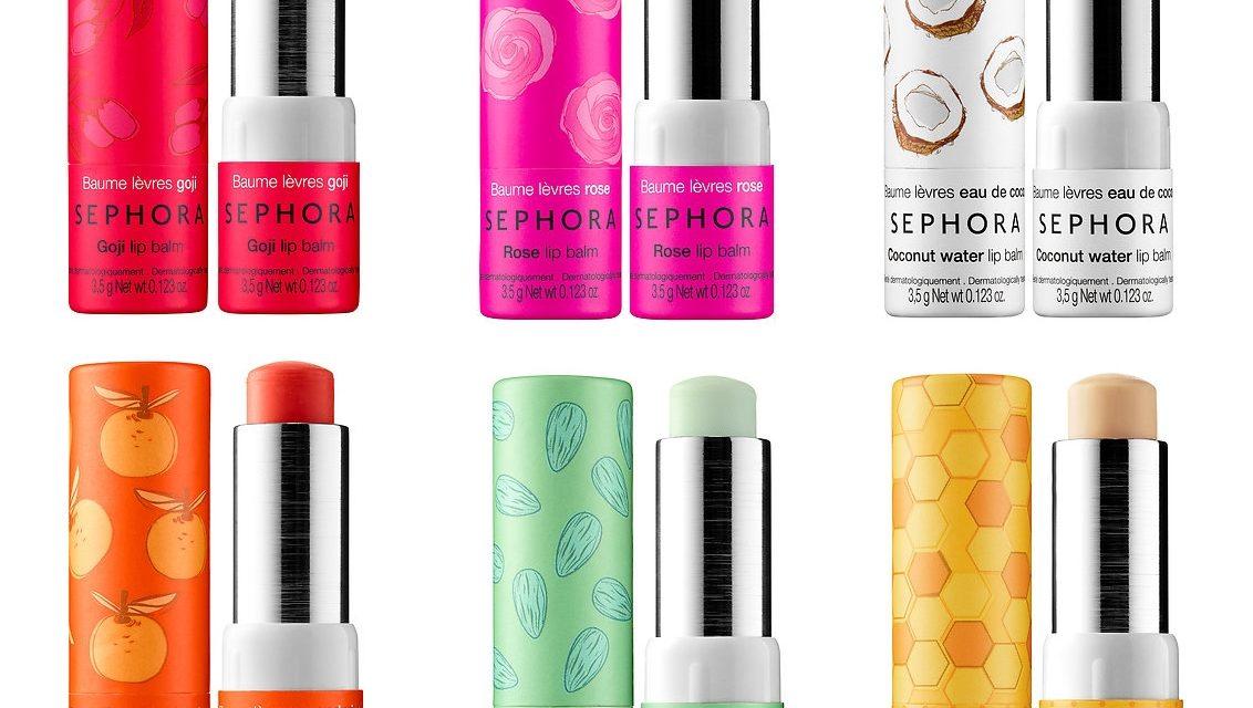 Sephora Collection – Lip Balm & Scrub