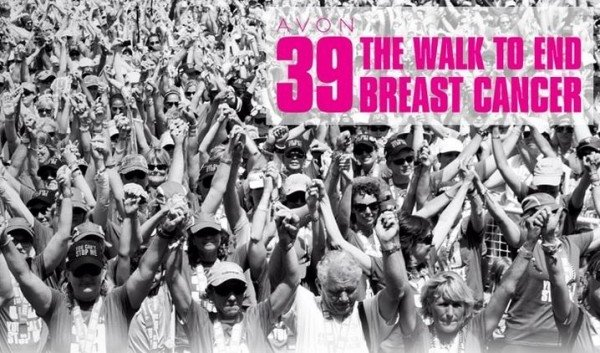 Avon kicks off 15th annual Avon 39 Walk to End Breast Cancer