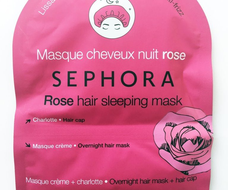 Sephora Collection  – Hair Sleeping Masks
