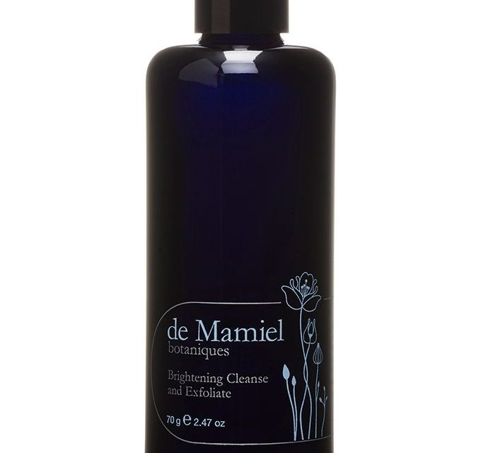 de Mamiel  – Brightening Cleanse and Exfoliate