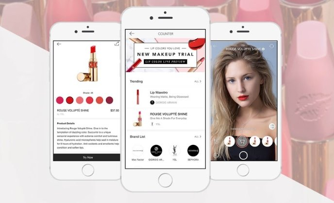 Meitu launches AR make-up counter experience in MakeupPlus app