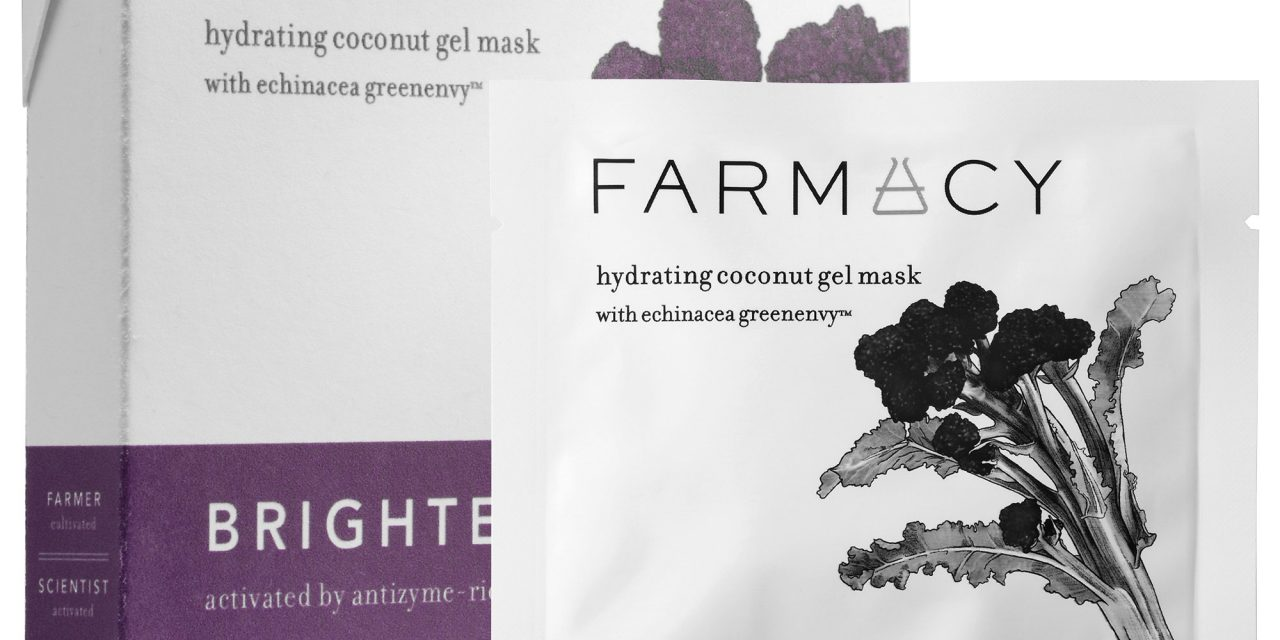 Farmacy –  Hydrating Coconut Gel Mask – Brightening (Purple Broccoli)