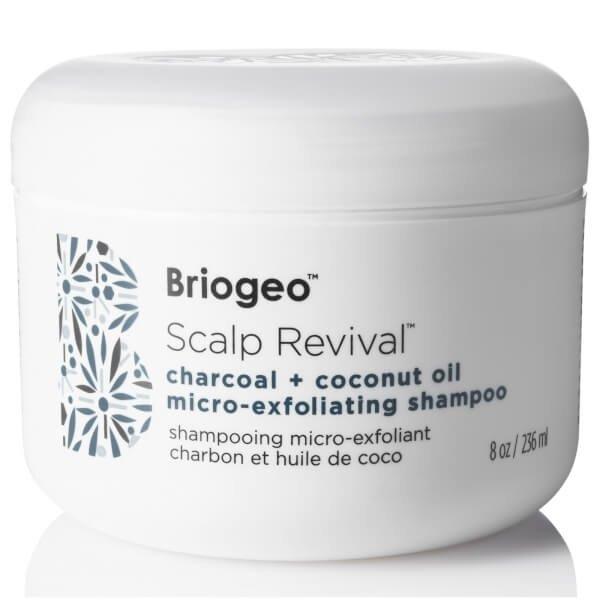 Briogeo  – Scalp Revival Charcoal + Coconut Oil Micro-exfoliating Shampoo