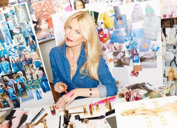Claudia Schiffer teams up with ArtDeco cosmetics to launch make-up line