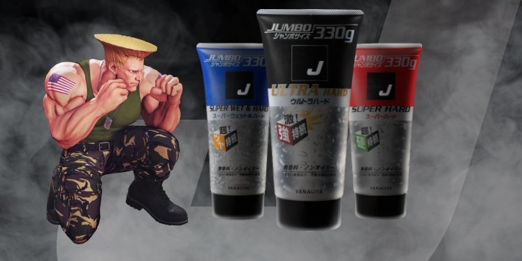 Up your hair game: Yanagiya announces Street Fighter character Guile to front J-Gel campaign