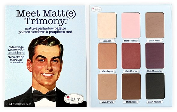 The Balm Cosmetics courts controversy with new 'racist' Meet Matt(e) Trimony eyeshadow palette