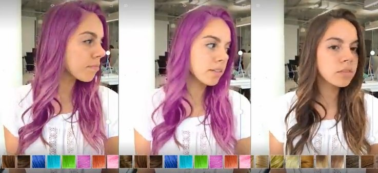 Turn around: ModiFace launches 3D hair color app