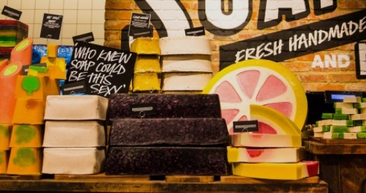 Lush tackles excess plastic packaging with Naked House exhibition in London