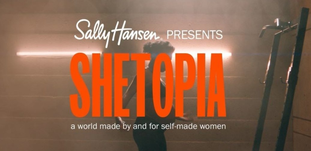 Coty-owned Sally Hansen celebrates self-made women in new Shetopia campaign