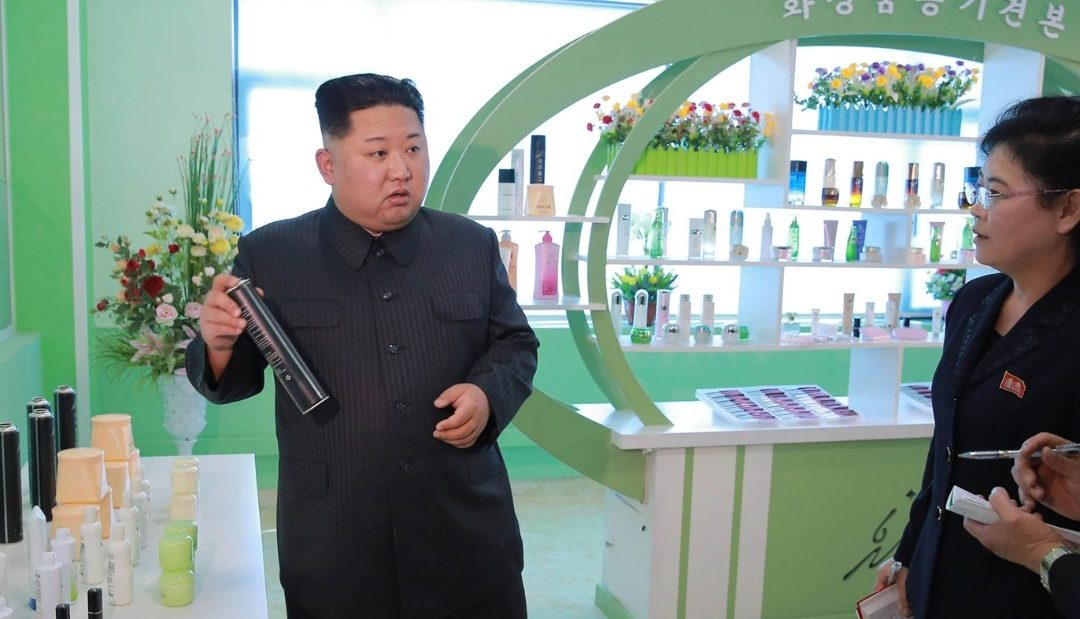 Kim Jong Un praises cosmetic factory's 'world-level' product as domestic market grows