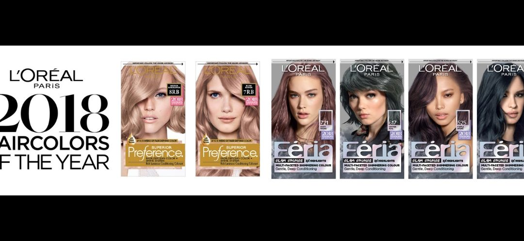 The Pantone of hair: L'Oréal announces first Hair Colors of the Year