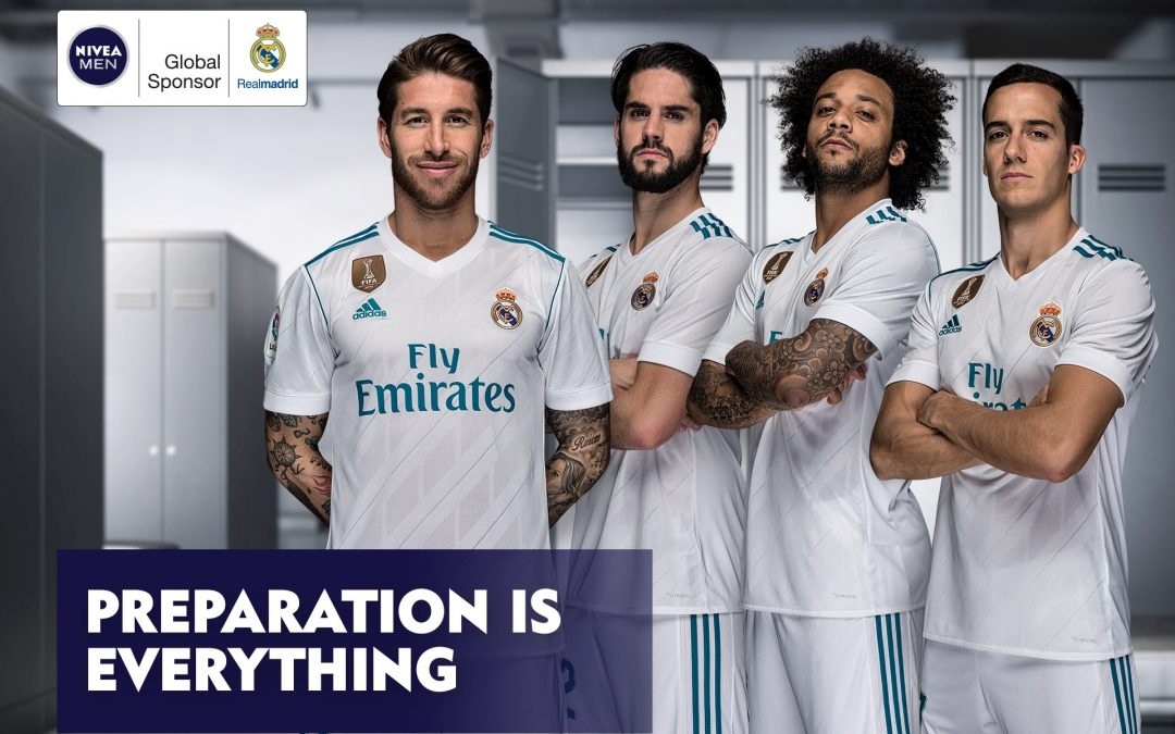 Nivea Men and Real Madrid roll out partnership worldwide