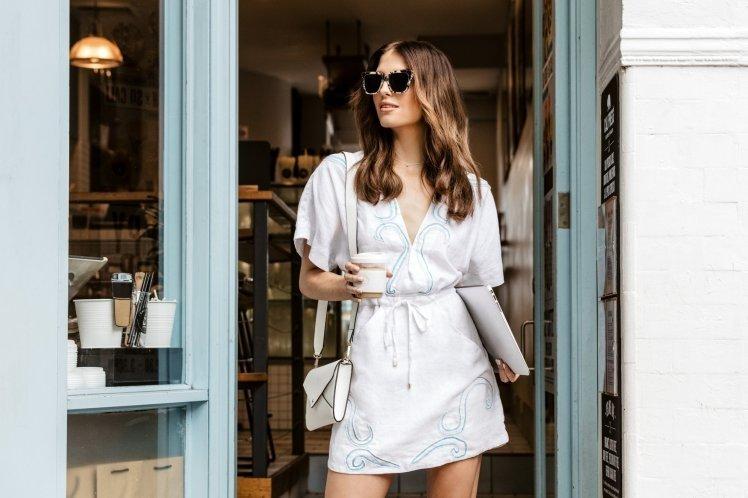 Neutrogena Australia launches UV-activated dress to detect sunburn