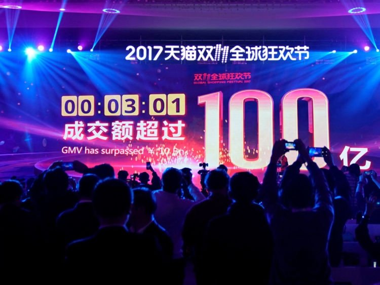 Move over Cyber Monday and Black Friday, Alibaba's Single's Day is in town…