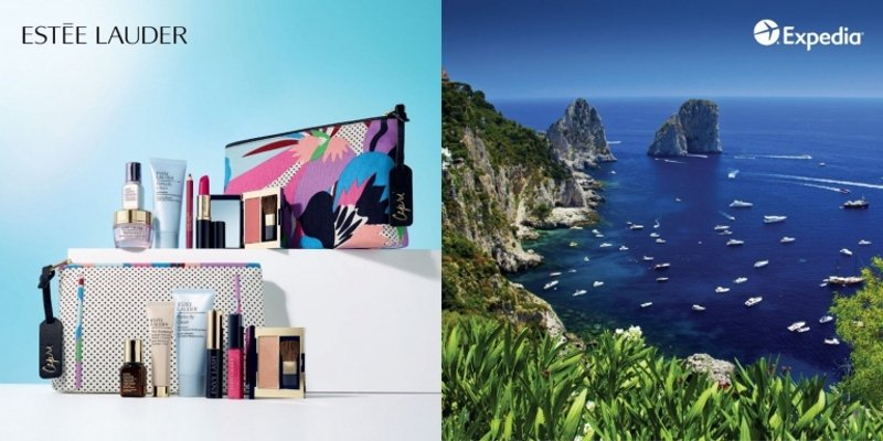 Estée Lauder teams up with Expedia in first travel-focused marketing initiative