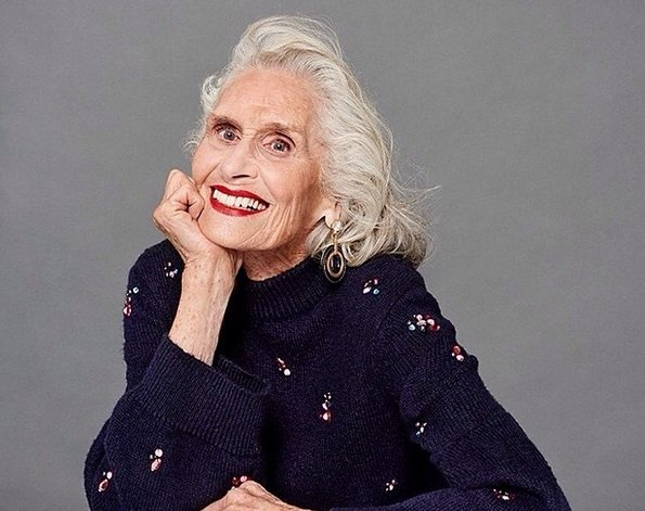 World's oldest supermodel, Daphne Selfe, 89, lands Eyeko contract