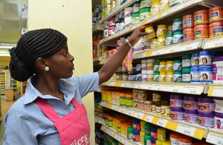 Kenyan women spend 20 percent of their income on hair