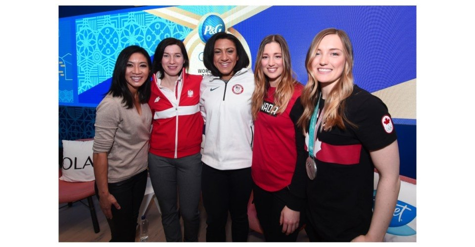 Procter & Gamble hosts gender equality panel discussion for female Olympians