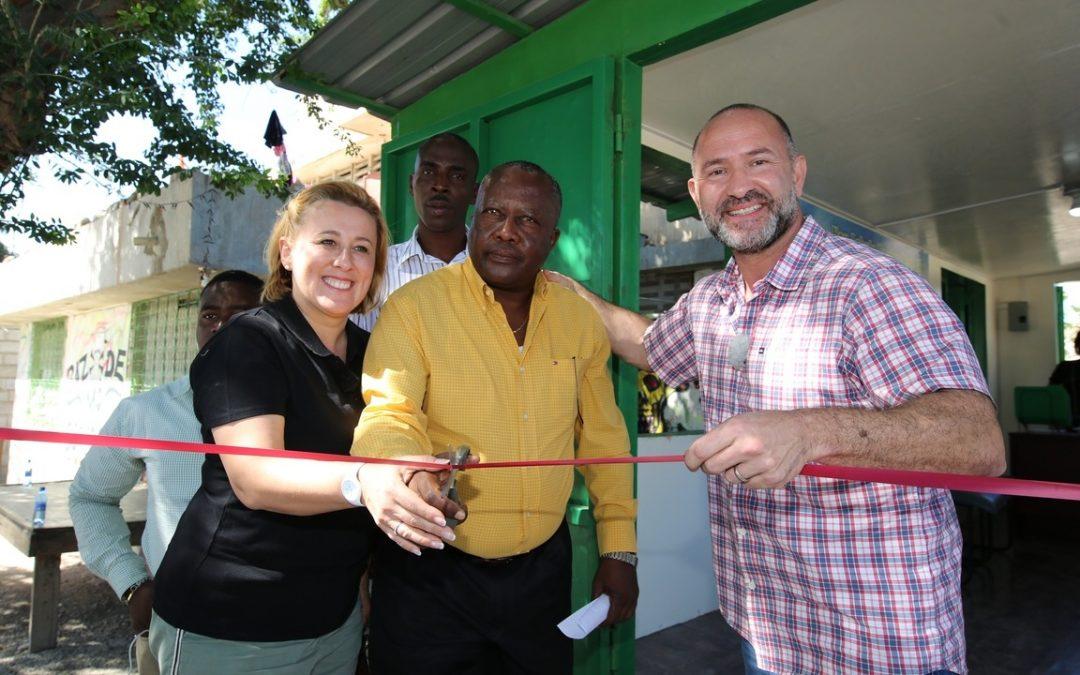 Schwarzkopf's opens new Haiti-based plastic waste collection centre via Milion Chances initiative