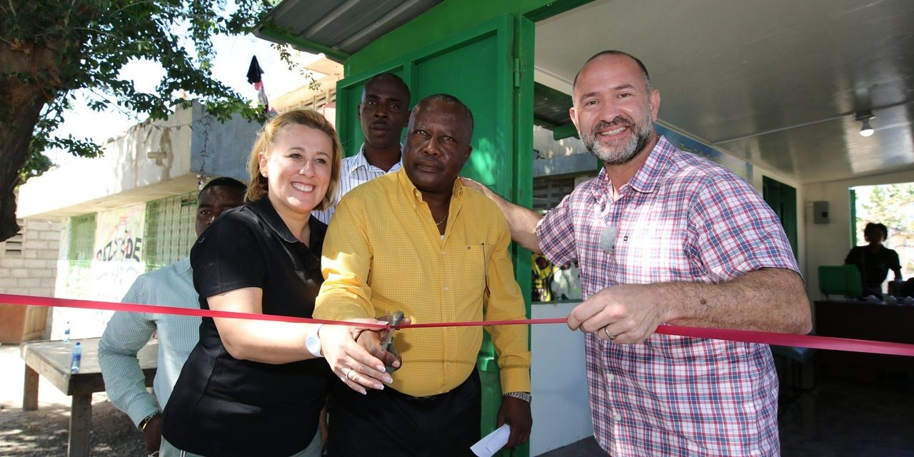 Schwarzkopf's opens new Haiti-based plastic waste collection centre via Milion Chances initiative