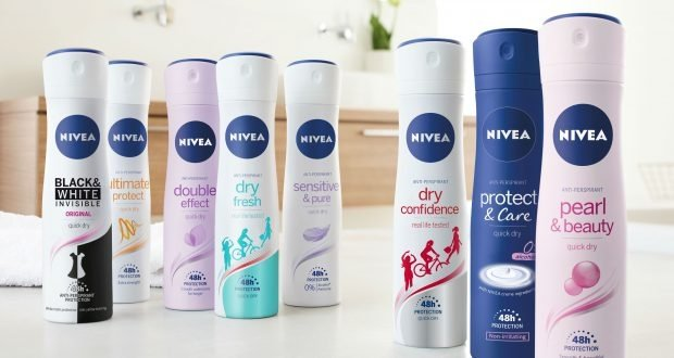 Nivea reveals new deodorant packaging design following three years of research