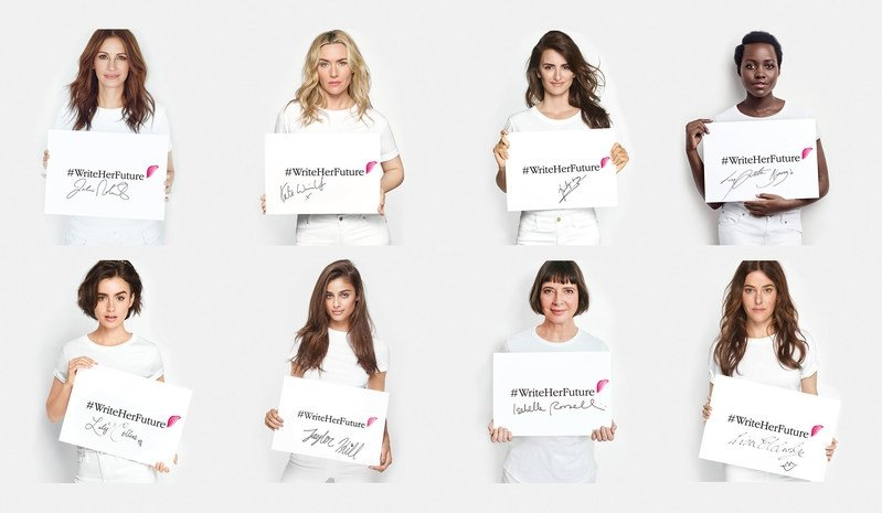 Lancôme commits to fight illiteracy amongst women with new Write Her Future campaign
