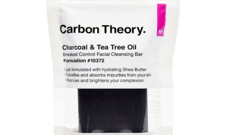 Carbon Theory – Charcoal and Tea Tree Oil Breakout Control Cleansing Bar